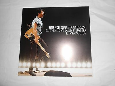 Bruce Springsteen Live, 1975-85 Promo 12x12 Double Sided Poster Flat
