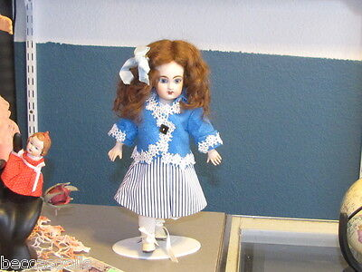 Ensemble for BLEUETTE Doll Complete in Blue/White Stripes w/Jacket SEELEY Body