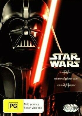 Star Wars Original Trilogy - Episodes IV 4, V 5 & VI 6 DVD R4