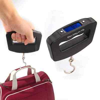 50KG Digital Travel Portable Handheld Weighing Luggage Scales Suitcase Bag ::S1