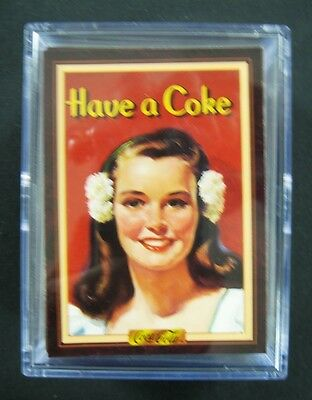 Coca Cola Series 3 -100 Collection Card Set from 1994 - Mint in New Acrylic Box