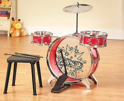 Spark Imagination w/ Big Band Kid Sized Drum Instrument Set  (8 pc  Set)