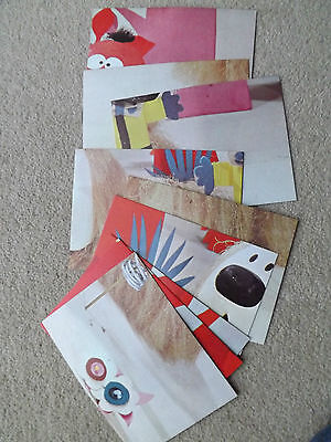 Magic Roundabout Vintage Dougal's Bedtime Story Picture Cards 70's