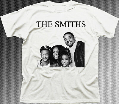 The Smiths band music rock Will funny white cotton t-shirt HG9843