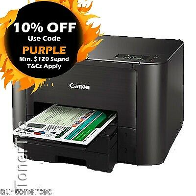 Canon MAXIFY iB4060 Wireless Inkjet Printer+2nd Paper Tray+Mobile Printing 23ppm