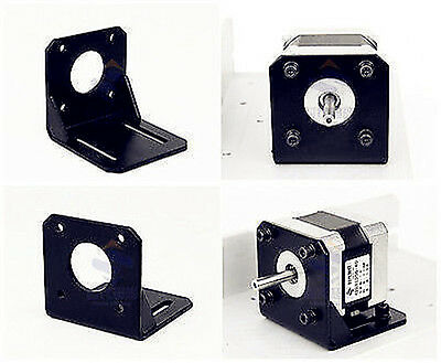 For 42mm NEMA17 Stepper Motor w/ Screws  Alloy Steel Mounting Bracket new
