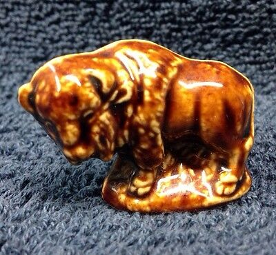 VINTAGE Buffalo/Bison WADE RED ROSE TEA Whimsies Animal Promotion #1 American