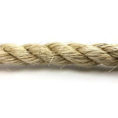 Cat Scratching and Pet Friendly  Rope - Dry Sisal (Natural)  6,8,10,12 & 14mm