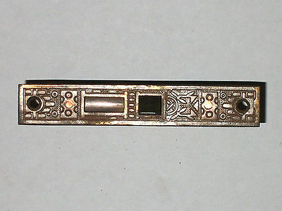 "Antique Eastlake Victorian Era Mortise Lock 7/8"" x 5 1/8"""