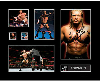 New Triple H Signed Limited Edition Memorabilia