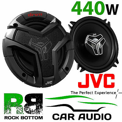 "JVC CS-V528 5.25"" 13cm 2 Way 440 Watts a Pair Car Door & Van Coaxial Speakers"