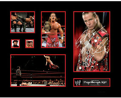 New Shawn Michaels Heartbreak Kid Signed Limited Edition Memorabilia