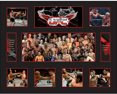 New UFC Signed Limited Edition Memorabilia