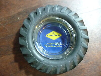 Vintage Goodyear Sure Grip 13- 26  Tractor Tire Ashtray Jessup & Sloan