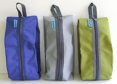 Shoe bag multi purpose travel waterproof laundry storage pouch zipper organiser