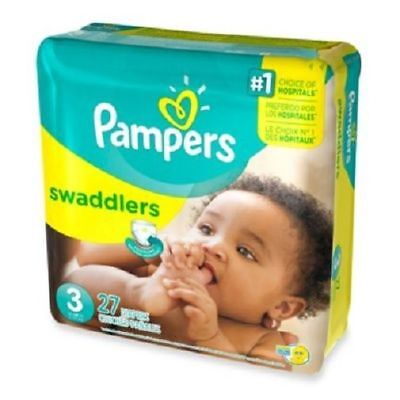 Pampers Swaddlers Diapers Size 3 Jumbo Pack