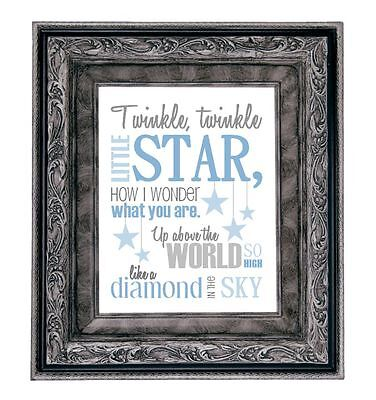 TWINKLE, TWINKLE LITTLE STAR - Art Print Shower Gift New Baby Nursery Picture