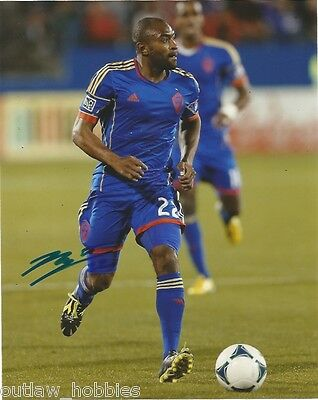 Colorado Rapids Marvell Wynn Autographed Signed MLS 8x10 COA