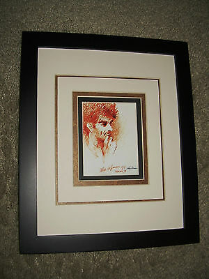 Framed Image of Abbie Hoffman by Leroy Neiman