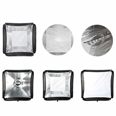 Bowens 60cm Softbox Soft Box for Flash Light Speedlite Speedlight kit 2m Stand