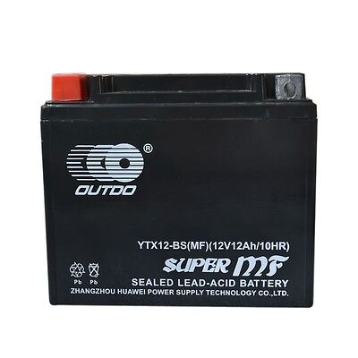 12v YTX12-BS AGM BATTERY for Honda Arctic Cat Suzuki Aprilia Kawasaki Motorbike