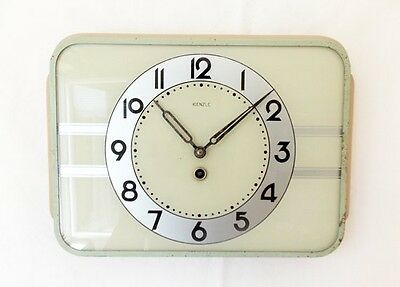 Vintage 1940s german Kitchen wall clock/ Made in Germany/ Kienzle /shabby chic