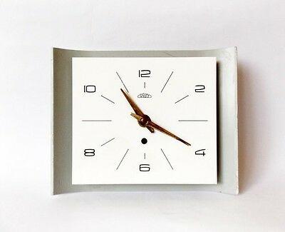 Rare Vintage 1960s BRUSEL Style Wall clock/Made in Czechoslovakia /PRIM /Antique