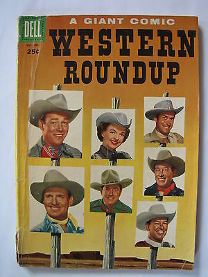 Western Roundup #12 (Oct-Dec 1955, Dell) [VG 4.0]