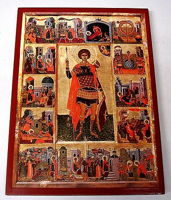 Der Heilige Georg Ikone Saint George Icone Icon Ikona Georgios orthodox Icoon