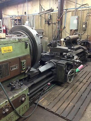 "36 X 100"" Giessen Heavy Duty Engine Lathe"