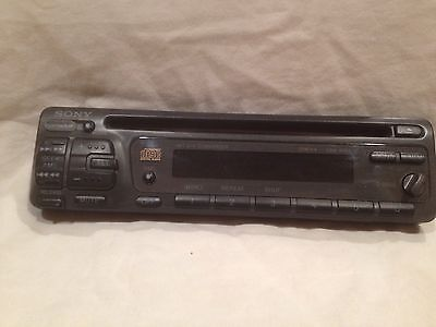 SONY CDX 4180 CD Player Faceplate Only. Untested - $18.00 ... Diagram Sony Wiring Cdx on