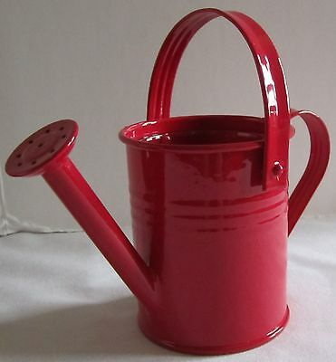 Yankee Candle Patriotic 4th of July Memorial Day 2013 Watering Can Red V/H