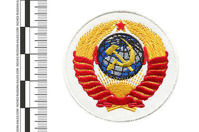 RUSSIAN EMBROIDERED SOVIET MILITARY,COSMONAUT AND SPORT PATCH EMBLEM OF THE USSR
