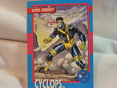 CYCLOPS  # 17 1992 Marvel Impel Trading Card