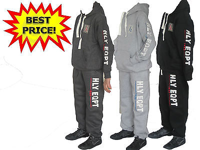 Boys Girls Kids Tracksuit Hooded Fleece Top & Jogging Bottoms.