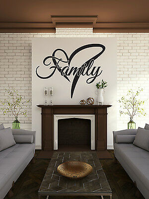 """""""Family"""" - Vinyl Wall Art Decal For The Home"""