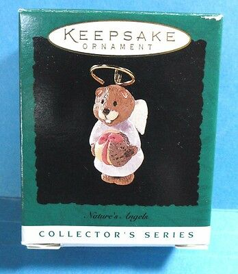 "Hallmark ""Nature's Angels"" Miniature Ornament 1996"