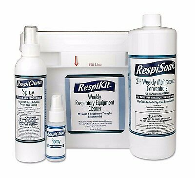 RespiKit CPAP Liquid Cleaning Solution System