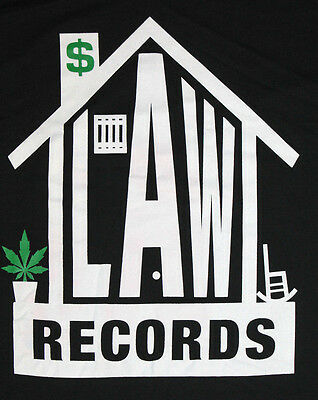 XL * NOS vtg 90s 1997 LAWHOUSE RECORDS t shirt * rap hip hop ice cube ras kass