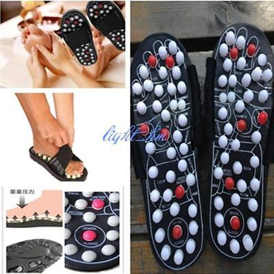 Massage Slippers Sandal Feet Chinese Acupressure Acupuncture Therapy Medical LH