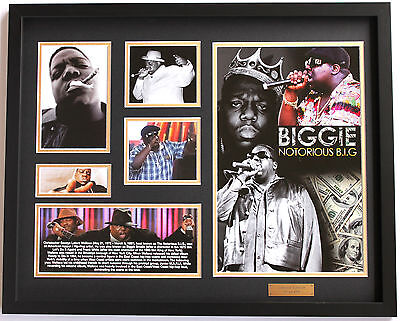 New Biggie Smalls Notorious BIG Limited Edition Memorabilia