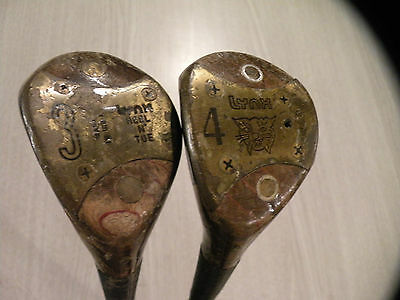LH Vintage Lynx 3 and 4 wood - LEFT HANDED