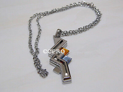 Final fantasy alloy metal pendant of Lightning Eclair·Farron sign necklace