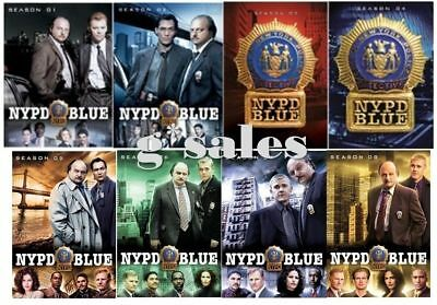NYPD Blue TV Series ~ Complete Season 1-7 1 2 3 4 5 6 7 ~ NEW 38-DISC DVD SET