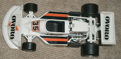 Vintage Polistil March 761,OVORO F1 car of Merzario, scale 1/41. Italy 1970's