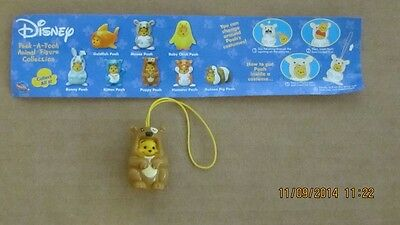 Disney  Peek-A- Pooh Animal figure collection one set of 8