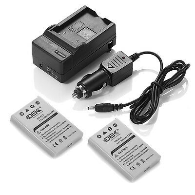 Battery for Nikon Coolpix P500 P510 P520 P530 P90 P100 P3 P4 / 2x EN-EL5+Charger