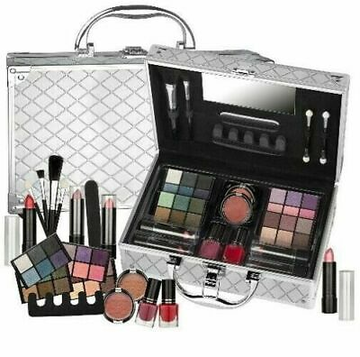 Valigetta Make Up 44 Pezzi - Set trucco cosmetici - Kit Trousse palette pennelli