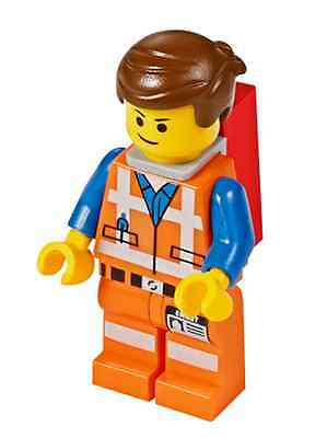 LEGO® The LEGO Movie™ 70803 EMMET with PIECE OF RESISTANCE Minifigure NEW