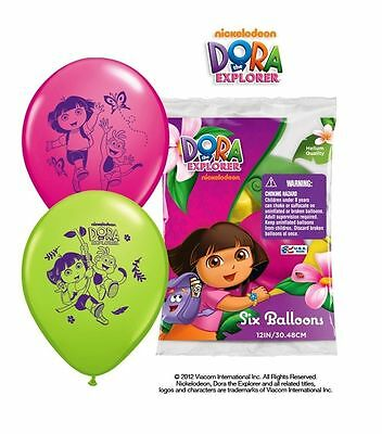 DORA THE EXPLORER Balloons Birthday Decorations Party Supplies Favors Prizes